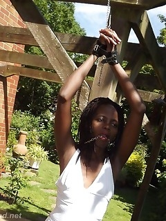 Ebony Bondage Photos