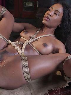 Ebony Bondage Photos